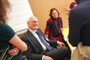 Gerhard Buchbauer mit Evelyn Deutsch